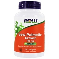 NOW Foods - Saw Palmetto Extract 160 mg. - 240 Softgels