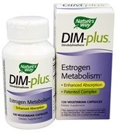 Nature's Way - DIM-Plus Estrogen Metabolism Formula - 120 Vegetarian Capsules