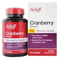 Schiff - Cranberry Extract Extra Strength 500 mg. - 90 Softgels
