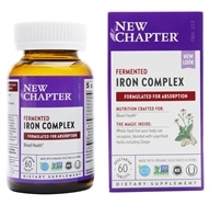 New Chapter - Iron Food Complex - 60 Tablets