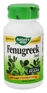 Nature's Way - Fenugreek Seed 620 mg. - 100 Vegetarian Capsules