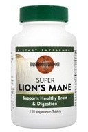 Mushroom Wisdom - Super Lion's Mane with Maitake D Fraction - 120 Tablets Formerly Maitake Products