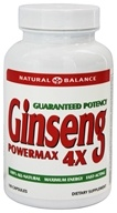 Action Labs - Ginseng Powermax 4X - 100 Capsules