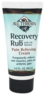 All Terrain - Recovery Rub with 5% Menthol - 3 oz.