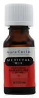 Aura Cacia - Essential Solutions Medieval Mix - 0.5 oz. Also Known as Thieves Oil