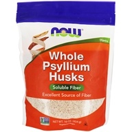 NOW Foods - Psyllium Husks Whole - 1 lb.
