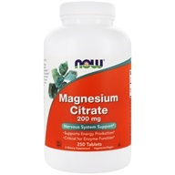 NOW Foods - Magnesium Citrate 200 mg. - 250 Tablets