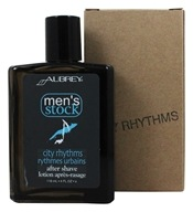 Aubrey Organics - Men's Stock City Rhythms After Shave Cedar, Sandalwood and Bergamot - 4 oz.