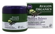 Avalon Organics - Lavender Luminosity Ultimate Night Cream - 2 oz. (Formerly Renewal & Vitality)