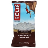 Clif Bar - Organic Energy Bar Chocolate Brownie - 2.4 oz.