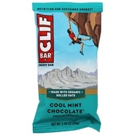 Clif Bar - Organic Energy Bar Cool Mint Chocolate - 2.4 oz.