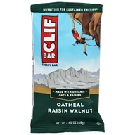 Clif Bar - Organic Energy Bar Oatmeal Raisin Walnut - 2.4 oz.