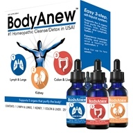 MediNatura - BodyAnew Cleanse Multipack Oral Drops - 1.69 oz. x 3 Bottle(s)/LUCKY PRICE