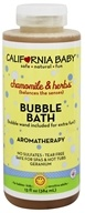 California Baby - Aromatherapy Bubble Bath With Bubble Wand Chamomile & Herbs - 13 oz.