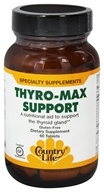 Country Life - Thyro-Max Support - 60 Tablets (formerly Biochem Rapid Release)