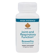 Savesta - Boswellia Joint and Respiratory Function Highest Potency - 60 Vegetarian Tablets Formerly Ayurceutics