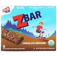 Clif Bar - Kid Z-Bar Organic Chocolate Brownie - 6 Bars