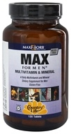 Country Life - Maxi-Sorb Max For Men Multivitamin & Mineral Iron-Free - 120 Tablets