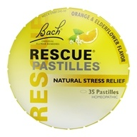Bach Original Flower Remedies - Rescue Remedy Pastilles - 1.7 oz.