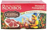Celestial Seasonings - Moroccan Pomegranate Red Caffeine Free - 20 Tea Bags