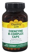 Country Life - Coenzyme B-Complex Caps - 120 Vegetarian Capsules