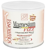 Baywood International - Solutions Magnesium Fizz Effervescent Blend Cherry Flavor - 17.4 oz.