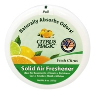 Citrus Magic - Solid Air Freshener Odor Absorbing Fresh Citrus - 8 oz.