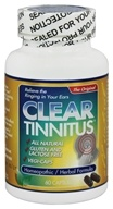 Clear Products - Clear Tinnitus Homeopathic/Herbal Relief Formula - 60 Capsules
