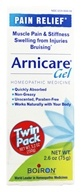 Boiron - Arnicare Arnica Gel Pain Relief 2.6 oz. (75g) Twin Pack - 5.2 oz. LUCKY DEAL