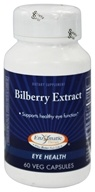 Enzymatic Therapy - Bilberry Extract - 60 Vegetarian Capsules