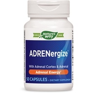 Enzymatic Therapy - ADRENergize - 50 Capsules (Formerly Adrenal-Cortex Complex)