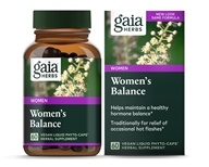 Gaia Herbs - Women's Balance Liquid Phyto Capsules - 60 Vegetarian Capsules Formerly Phyto Estrogen