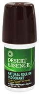 Desert Essence - Natural Roll-On Deodorant With Eco-Harvest Tea Tree Oil Lavender & Aloe - 2 oz.