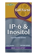 Enzymatic Therapy - Cell Forte With IP-6 & Inositol - 240 Vegetarian Capsules