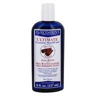Eco-Dent - Ultimate Daily Rinse and Oral Wound Cleanser/Oral Debriding Agent Alcohol Free Cool Cinnamon - 8 oz.