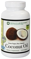 Emerald Labs - Coconut Oil Extra Virgin - 120 Softgels