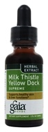 Gaia Herbs - Milk Thistle Yellow Dock Supreme - 1 oz.