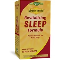 Enzymatic Therapy - Revitalizing Sleep Formula contains Wild Lettuce Extract - 90 Vegetarian Capsules