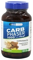 Biochem by Country Life - Carb Phaser 1000 - 120 Vegetarian Capsules Contains White Kidney Bean Extract