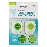 Dr. Tung's - Snap-On Toothbrush Sanitizer - 2 Pack(s)