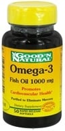 Good 'N Natural - Omega-3 Fish Oil 1000 mg. - 50 Softgels
