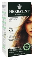 Herbatint - Herbal Haircolor Permanent Gel 7N Blonde - 4.56 oz.