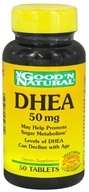 Good 'N Natural - DHEA 50 mg. - 50 Tablets