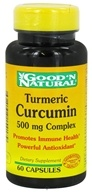 Good 'N Natural - Turmeric Curcumin 500 mg. - 60 Capsules
