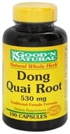 Good 'N Natural - Dong Quai 530 mg. - 100 Capsules