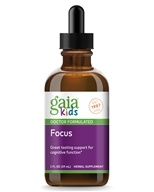 Gaia Herbs - Kids Attention Daily Herbal Drops - 2 oz. Formerly Kids-Melissa Supreme