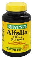 Good 'N Natural - Alfalfa 500 mg. - 250 Tablets