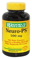 Good 'N Natural - Neuro-PS 500 mg. - 60 Softgels