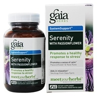 Gaia Herbs - Serenity with Passionflower Liquid Phyto Capsules - 60 Vegetarian Capsules