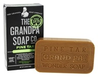 Grandpa's Soap Co. - Wonder Pine Tar Soap - 4.25 oz.